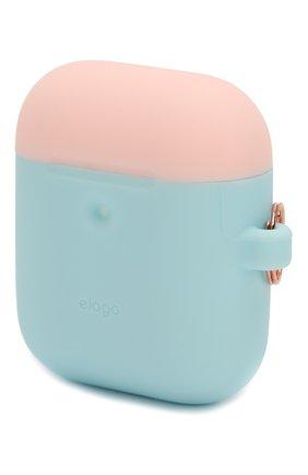 Чехол для airpods wireless  ELAGO голубого цвета, арт. EAP2DH-PBL-PKWH   Фото 2 (Статус проверки: Проверена категория)