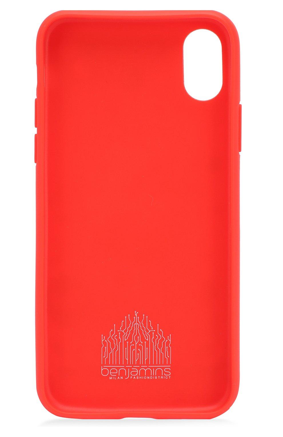 Мужской чехол для iphone x с принтом BENJAMINS разноцветного цвета, арт. BJX-P0PCAN   Фото 2