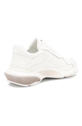 Кожаные кроссовки Valentino Garavani Bounce | Фото №4
