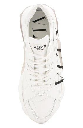 Кожаные кроссовки Valentino Garavani Bounce | Фото №5