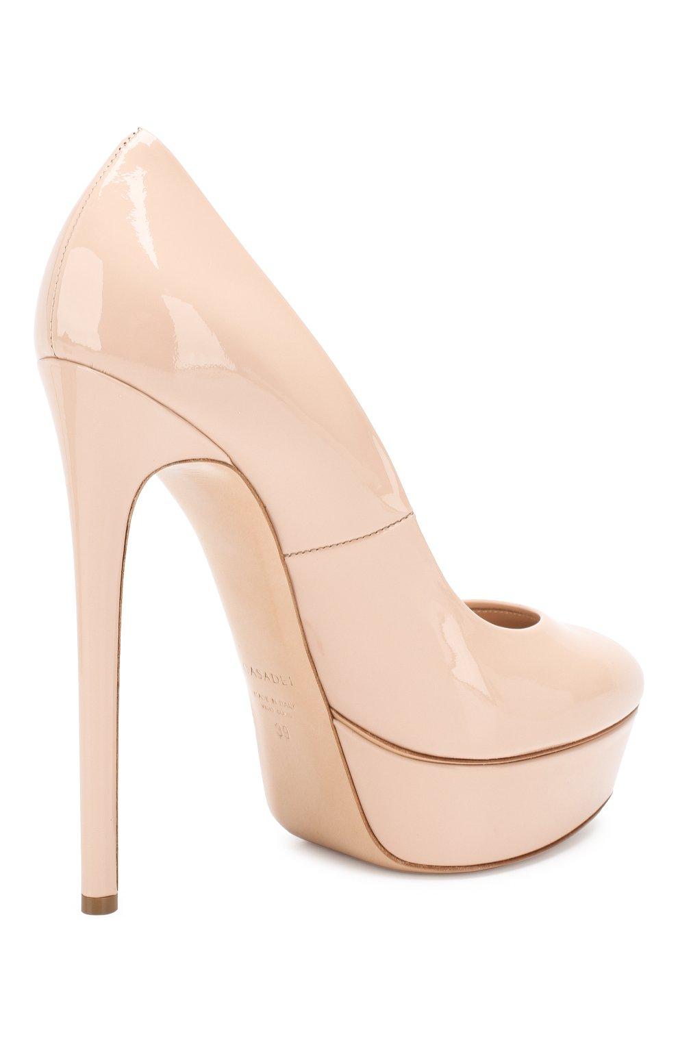 Кожаные туфли Flora | Фото №4