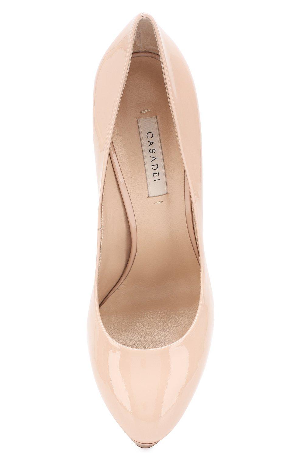 Кожаные туфли Flora | Фото №5