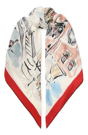Шелковый платок Paris | Фото №1