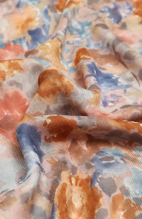 Женская шаль giverny из кашемира и шелка LORO PIANA светло-розового цвета, арт. FAI7153 | Фото 2