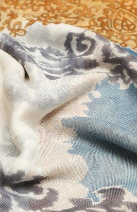 Шаль Azulejos из кашемира и шелка | Фото №2