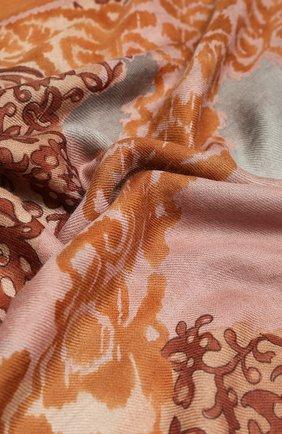 Женская шаль azulejos из кашемира и шелка LORO PIANA розового цвета, арт. FAI7151 | Фото 2