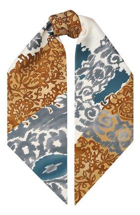 Шелковый шарф-бандо Azulejos | Фото №1