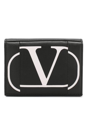 Кожаное портмоне Valentino Garavani | Фото №1
