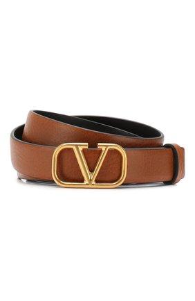 Кожаный ремень Valentino Garavani | Фото №1