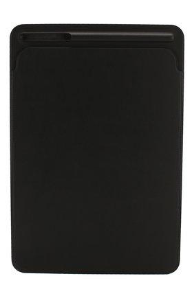 "Мужской чехол leather sleeve для ipad pro 10.5""  APPLE черного цвета, арт. MPU62ZM/A | Фото 1"