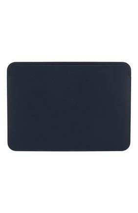 "Мужской чехол leather sleeve для macbook 12"" APPLE  темно-синего цвета, арт. MQG02ZM/A | Фото 1"