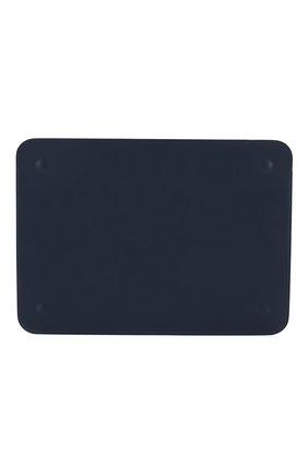 "Мужской чехол leather sleeve для macbook 12"" APPLE  темно-синего цвета, арт. MQG02ZM/A | Фото 2"