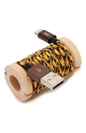 Мужской кабель для зарядки PHILO желтого цвета, арт. PH001AN | Фото 1