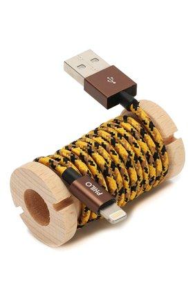 Мужской кабель для зарядки PHILO желтого цвета, арт. PH001AN | Фото 2