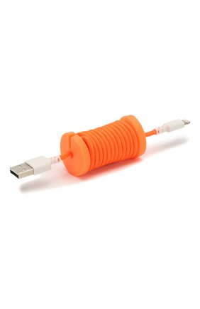 Мужской кабель для зарядки PHILO оранжевого цвета, арт. PH004OR | Фото 1