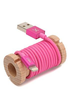 Мужской кабель для зарядки PHILO фуксия цвета, арт. PH001BG | Фото 2