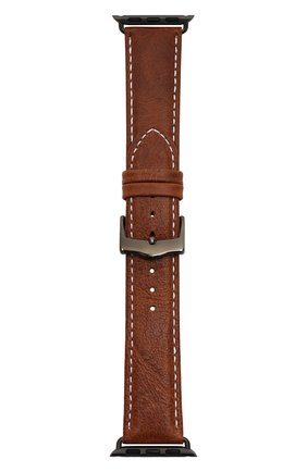 Мужской ремешок для apple watch 38mm DBRAMANTE1928 коричневого цвета, арт. AW38GTSG0880 | Фото 1