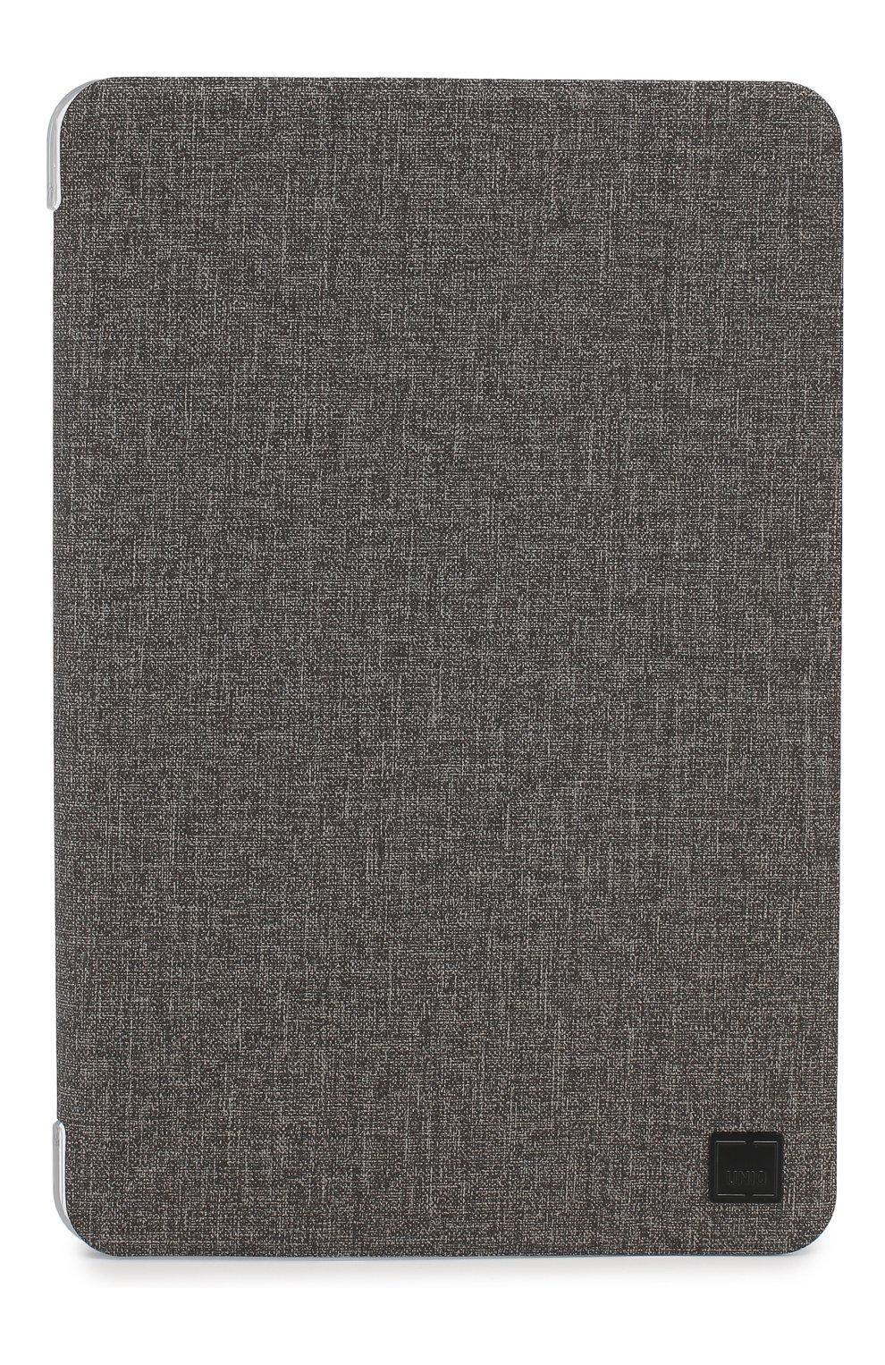 Мужской чехол для ipad mini 5 UNIQ серого цвета, арт. PDM5YKR-KNVGRY   Фото 1