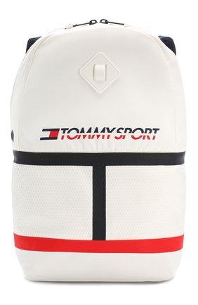 Женский рюкзак TOMMY SPORT белого цвета, арт. AU0AU00617 | Фото 1