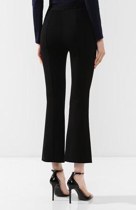 Расклешенные брюки Givenchy черные   Фото №4
