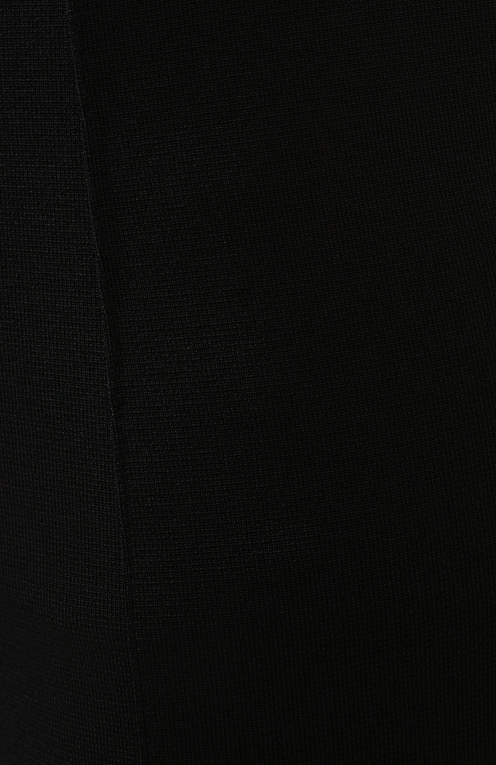Расклешенные брюки Givenchy черные   Фото №5