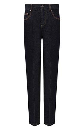 Женские джинсы со стрелками BOTTEGA VENETA синего цвета, арт. 577037/VKBC0 | Фото 1