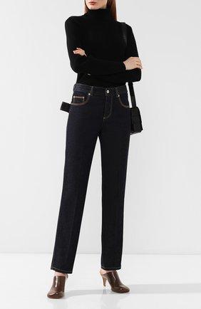 Женские джинсы со стрелками BOTTEGA VENETA синего цвета, арт. 577037/VKBC0 | Фото 2