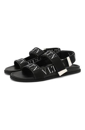 Текстильные сандалии Valentino Garavani | Фото №1