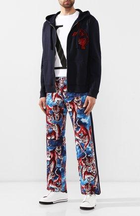 Мужской брюки VALENTINO разноцветного цвета, арт. SV3MD01U5HN | Фото 2