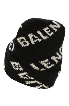 Мужская шерстяная шапка BALENCIAGA белого цвета, арт. 558950/T1471 | Фото 2