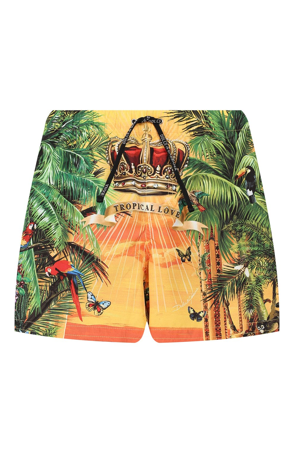 Детского плавки-шорты DOLCE & GABBANA разноцветного цвета, арт. L1J818/G7SSK | Фото 1