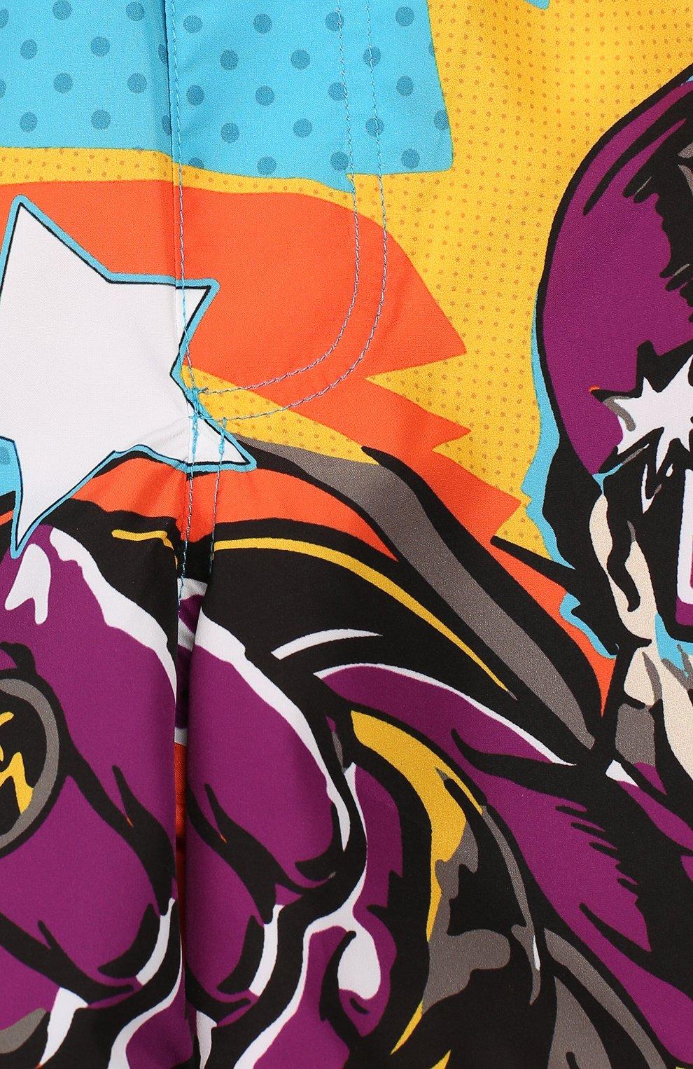 Детского плавки-шорты DOLCE & GABBANA разноцветного цвета, арт. L1J818/G7SPN   Фото 3