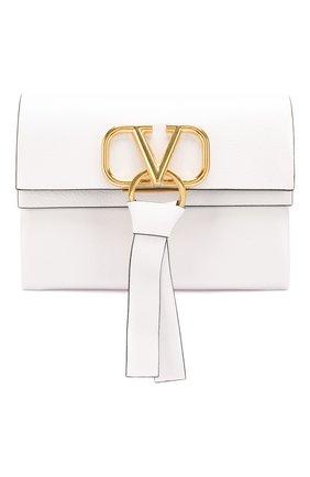 Женская сумка valentino garavani vring VALENTINO белого цвета, арт. SW2B0E04/NKL | Фото 1