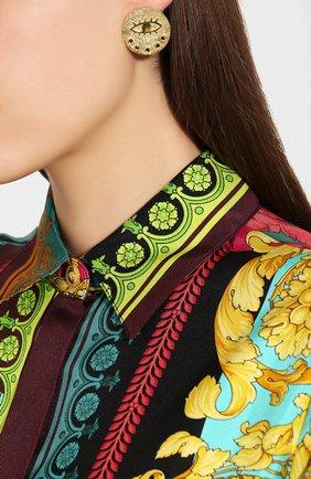 Женские серьги kressida  HERMINA ATHENS золотого цвета, арт. KLPEG | Фото 2