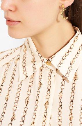 Женские серьги méliès HERMINA ATHENS золотого цвета, арт. MSMEG | Фото 2