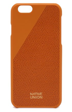 Мужской чехол для iphone 6/6s NATIVE UNION золотого цвета, арт. CLIC-GLD-LE-H-6S | Фото 1