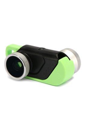 Мужская объектив 4-in-1 для iphone 6/6 plus OLLOCLIP разноцветного цвета, арт. OCEU-IPH6-FW2M-SB_ | Фото 1