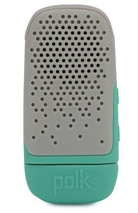 Мужские портативная акустика boom bit POLK AUDIO серого цвета, арт. Polk Boom Bit Grey | Фото 1