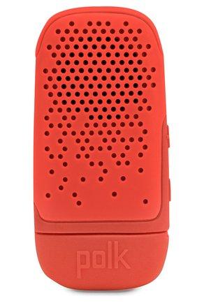 Мужские портативная акустика boom bit POLK AUDIO красного цвета, арт. Polk Boom Bit Red | Фото 1