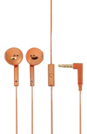 Мужские наушники earbud plus HAPPY PLUGS золотого цвета, арт. 7823 | Фото 1