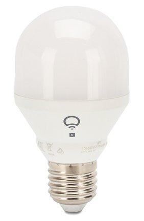 Мужской управляемая лампа lifx mini day & dusk a19 e27 LIFX белого цвета, арт. L3A19MTW08E27 | Фото 1