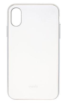 Мужской чехол для iphone xr MOSHI белого цвета, арт. 99MO113101 | Фото 1