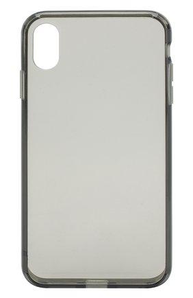 Мужской чехол для iphone xs max  JUST MOBILE прозрачного цвета, арт. PC-565CB | Фото 1