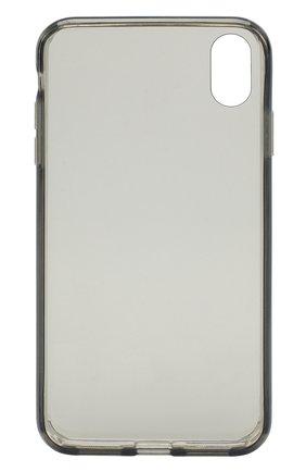 Мужской чехол для iphone xs max  JUST MOBILE прозрачного цвета, арт. PC-565CB | Фото 2