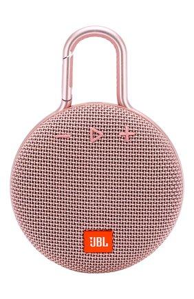 Мужские портативная акустика jbl clip 3 JBL розового цвета, арт. JBLCLIP3PINK | Фото 1