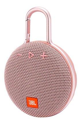 Мужские портативная акустика jbl clip 3 JBL розового цвета, арт. JBLCLIP3PINK | Фото 2