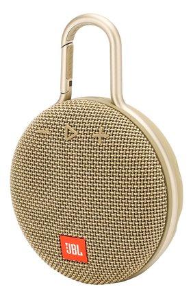 Мужские портативная акустика jbl clip 3 JBL золотого цвета, арт. JBLCLIP3SAND | Фото 2