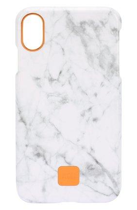 Мужской чехол для iphone xs max  HAPPY PLUGS белого цвета, арт. 9326 | Фото 1