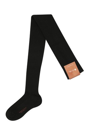Женские колготки из смеси кашемира и шелка LORO PIANA черного цвета, арт. FAC5023 | Фото 1