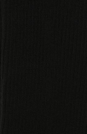 Женские колготки из смеси кашемира и шелка LORO PIANA черного цвета, арт. FAC5023 | Фото 2
